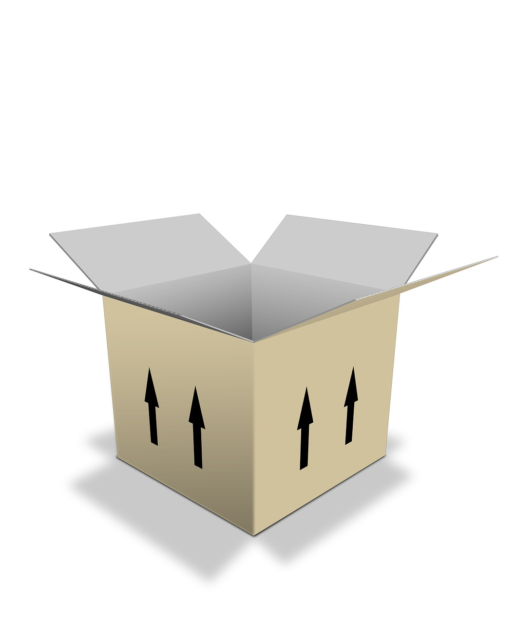 box, packing, cardboard
