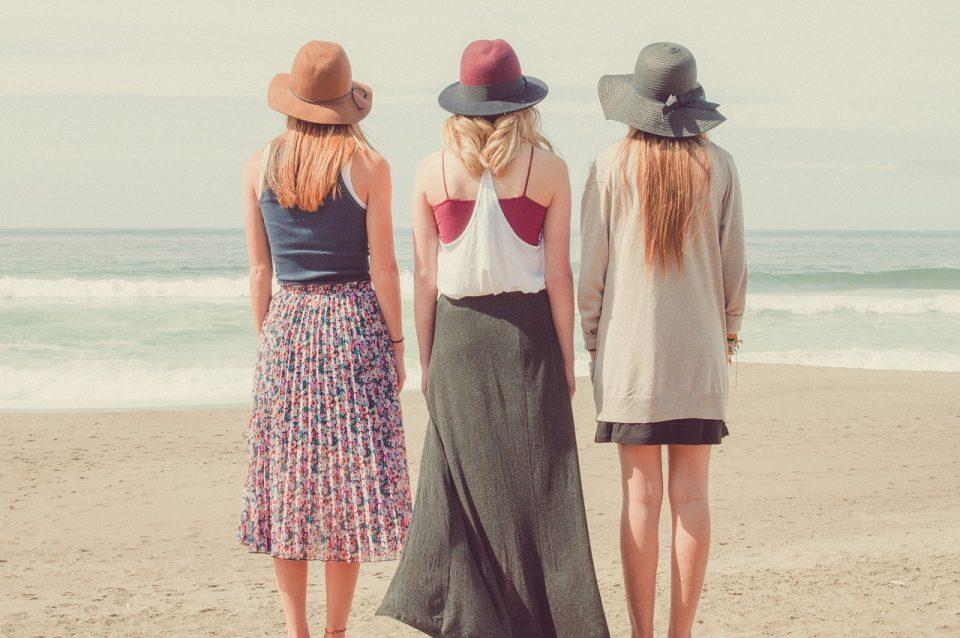 beach, ocean, people